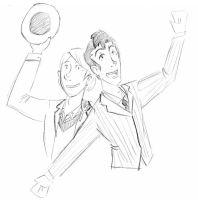 Drawing Day - Two Doctors by fancylances