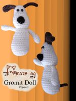 Amaze-ing Gromit Doll by Amaze-ingHats