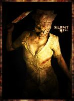 Silent HIll Dark Nurse Cosplay by GlisteningICandy