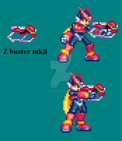 Z buster mkii by omegazeke08013