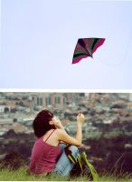 My kite by Catcuadros