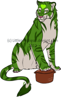 Tani - Torva Cattus Commission by littlezombiesol