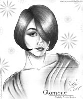 Glamour Potrait by areemus