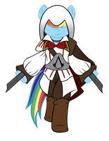 Rainbow Dash da Firenze Vector by ikonradx