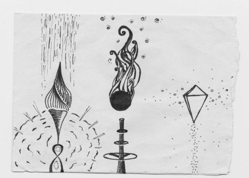 Three torches by OdNua