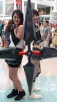 Tifa Lockhart and Yuffie Kisaragi from FF7 by trivto