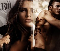 Mary and Rhage- Black Dagger Brotherhood Series by Achillies2288