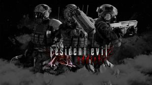 Wallpaper Resident Evil Addict by UndeadTeddy