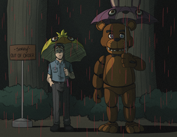 FNAF: My Neighbour Freddy GIF by forte-girl7