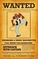 Maikeru is a Wanted Mouse by Spectrumelf
