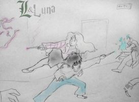 L and Luna Lovegood pt. 15:The Fight pt III by Omnipotrent