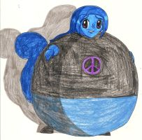 Request - Adien inflated into a blueberry by Magic-Kristina-KW