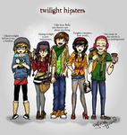 Twilight: Hipsters by alisagirard