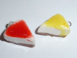 Fimo Cheesecakes by ImagenedRose
