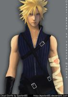 FF7 - Cloud Strife by Epsilon86
