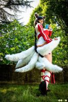Ahri Cosplay - League Of Legends (LoL) ~29 by LyoeItsumi