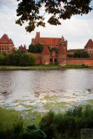Malbork: Across the River by Mgsblade