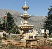 Lion Fountain by fuguestock