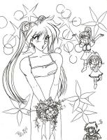 Retro Art: Gourry's Wedding by rioka