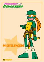 TMNT the PPC style-Mikey by Porn1315