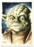 YODA Commissioned Painting by Erik-Maell