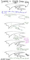 Drawing Demon Wings - Tutorial by Shaded-Dream