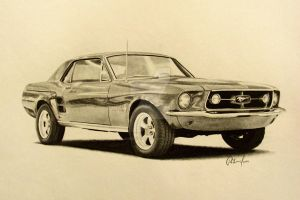1967 Mustang by smudlinka66