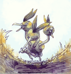Dodrio by WindieDragon