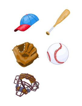 baseball icons by n8gee