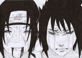 Uchiha Brother by LeBoubou