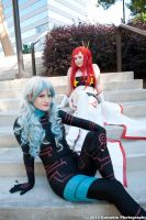 On the steps of Kamina City by Foxy-Cosplay