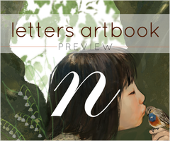 letters artbook preview by shengcai