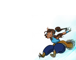 Lok: Korra Wallpaper by ky-nim
