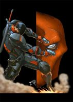 Deathstroke by RecklessHero