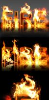Real Fire Text Creator by ArtoriusGothicus