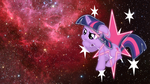 Twilight sparkle is thinking by DragonKittyPi