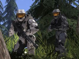 RVB: Church and Tex by ToaDeathax