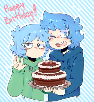 |GIFT| Happy Birthday! by penguin003