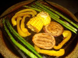 grilled veggies by plainordinary1