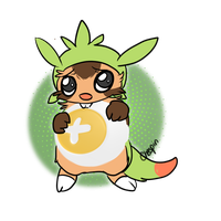 Chespin by alinoravanity