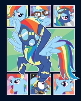 Newbie Dash Tee Shirt Design by xkappax