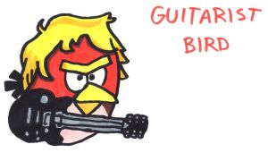 Guitarist Bird by YouCanDrawIt