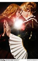 Umineko Cosplay: Beato Twins: I Want to Become One by Redustrial-Ruin