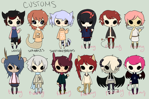 { Customs and Adopt Batch } by Rammy-Rams