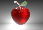 Cinema 4D: Manzana by jazyuzumaki