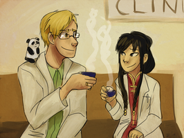 FMA- Tea Break by schellibie