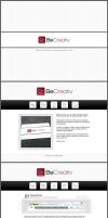 .beCreativ website template by TheNeoShaman