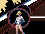 Power Girl wallpaper. by TheRezidentEvil