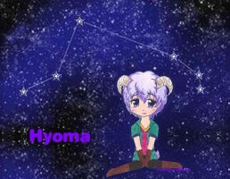 Hyoma's Star by Pretty-Marth