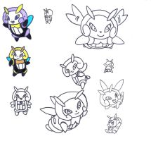 Illumise drafts by augustelos